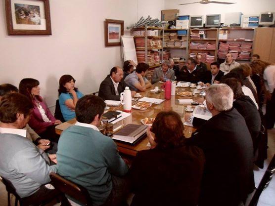 Concejales del sur buscan unidos la mejor traza para la ruta 188