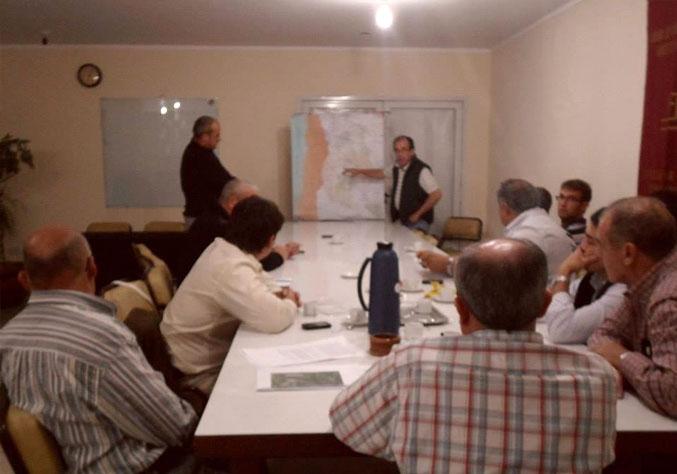 Concejales se reunieron con la Cámara de Comercio por la Ruta 188