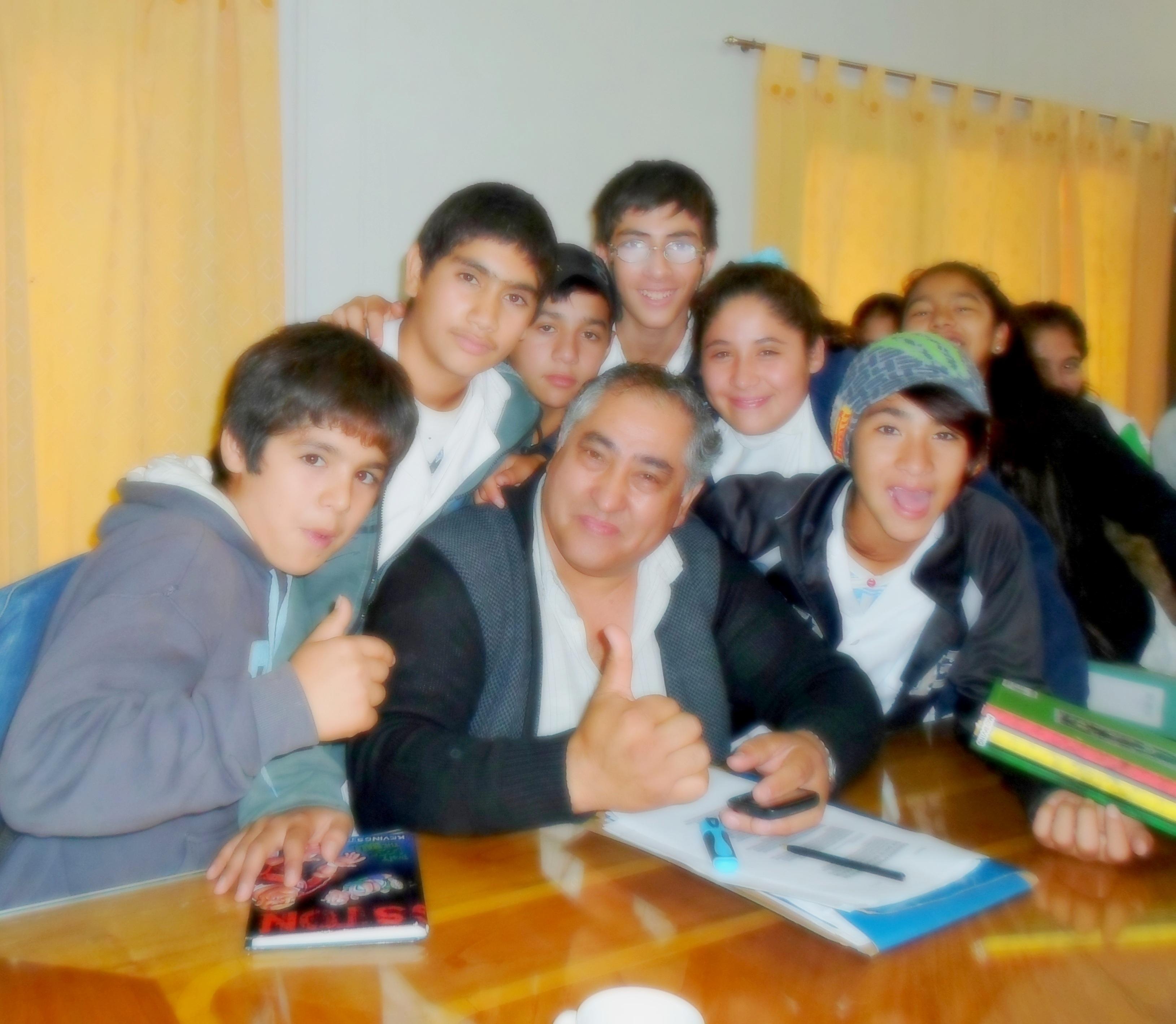 Luis Gutierrez : Más Luminarias y Mejoras en calles del Barrio Zangrandi