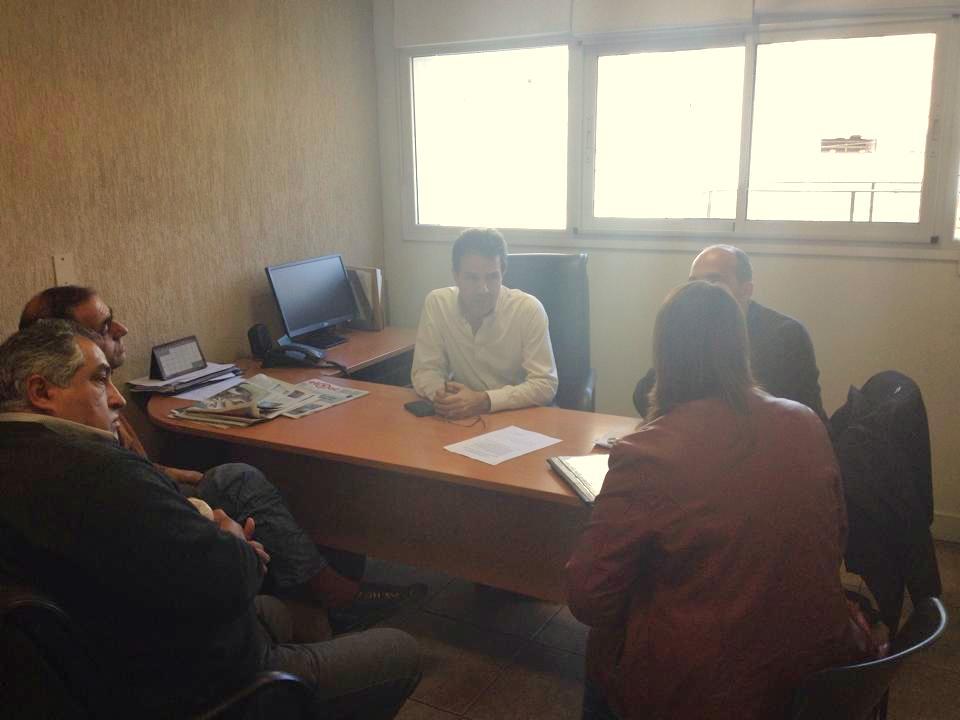 Gutierrez viajó al IPV buscando respuestas para el Barrio 24 de Noviembre