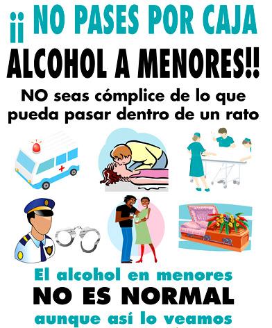 ALVEAR: Sanciones más severas a quienes vendan Alcohol a Menores