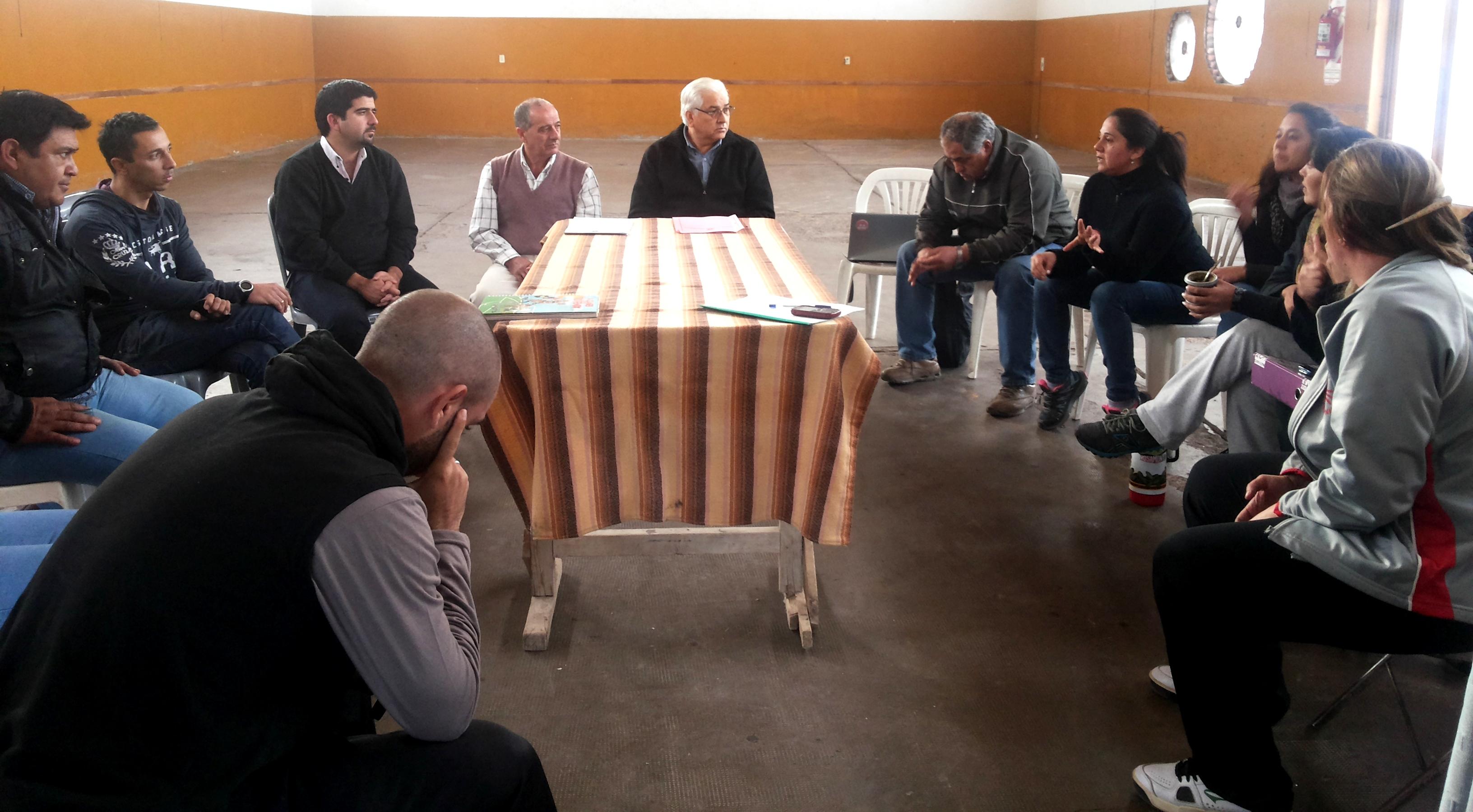 Concejales se reunieron en Carmensa