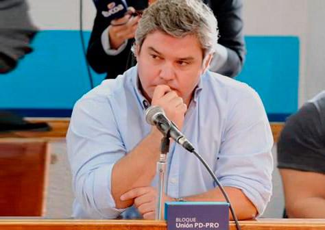Ramiro Zaragoza el Concejal del Bloque PD-PRO solicitó un estudio del Agua de Gral. Alvear.
