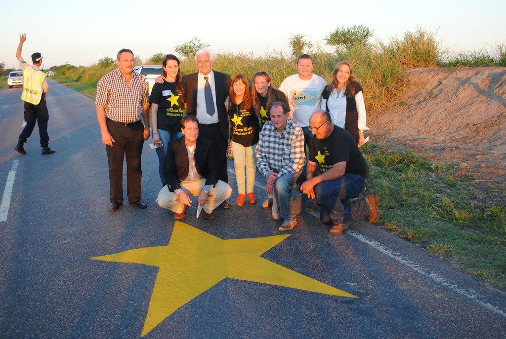 """Campaña """"Estrellas Amarillas"""" tendrá su monumento"""