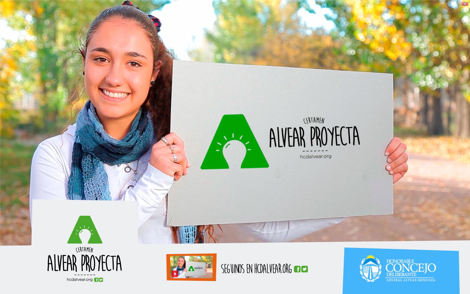 EL CONCEJO INVITA A LOS JÓVENES AL CERTAMEN: #ALVEARPROYECTA