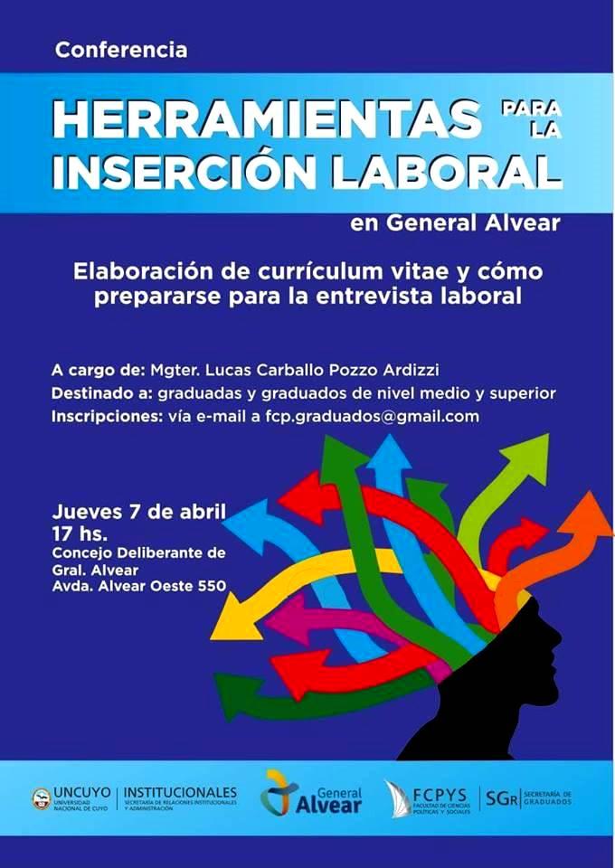 Conferencia para la inserción laboral