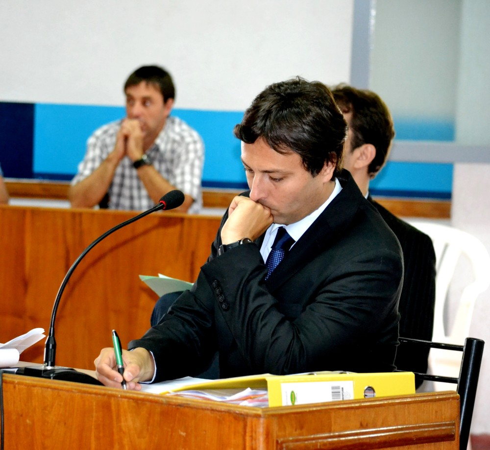 El concejal Martinez Baron gestiona en Buenos Aires.