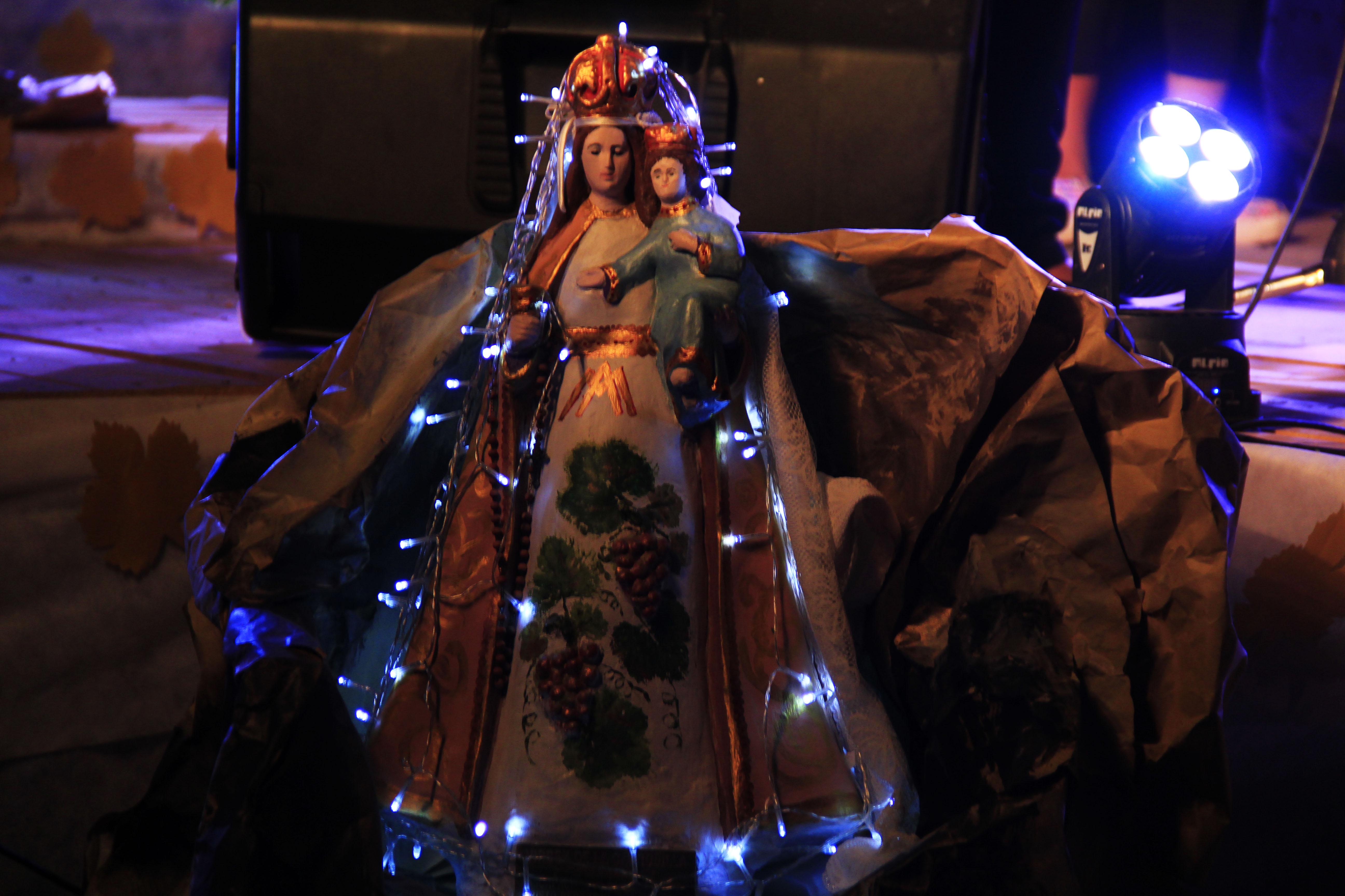 El miércoles a las 8:30hs estará la Virgen de la Carrodilla en el HCD