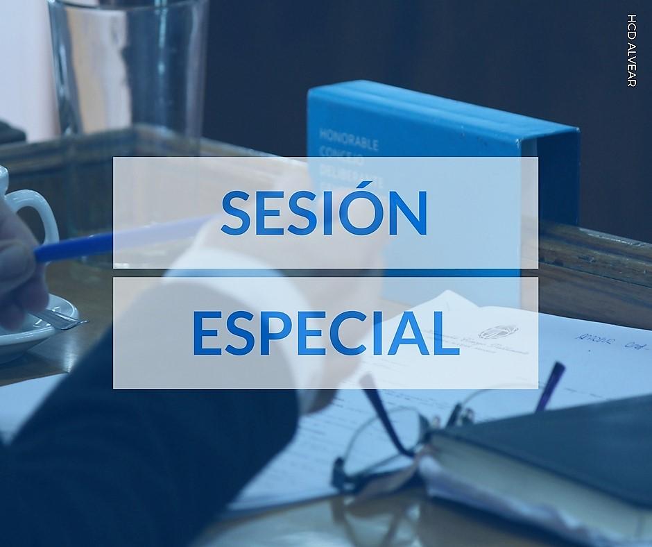 Hoy Sesión Especial en el H.C.D