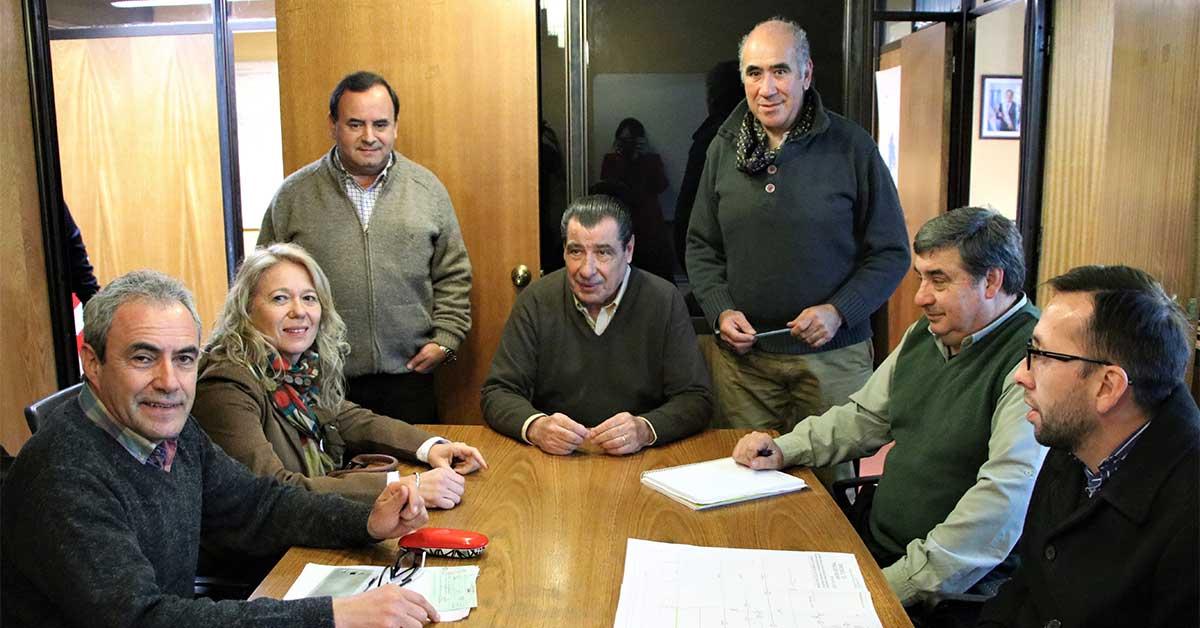 Reunión con autoridades del EPAS