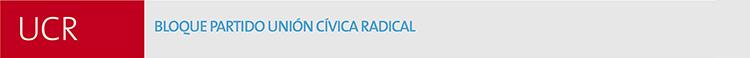Bloque Unión Cívica Radical